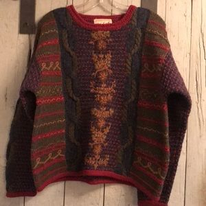 Woolrich wool sweater vintage
